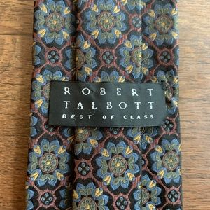 "Robert Talbott ""Best of Class"" Stunning Silk Tie"